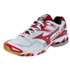 602fd3fca99f Mizuno Womens Wave Bolt 3 Volleyball Shoes White Red WhiteRed 11 ** Find  out more about the great product at the image link.