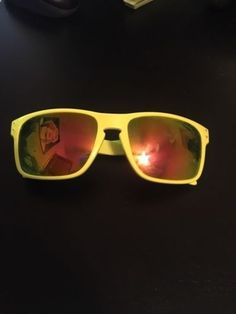 Mens Neon Oakley Sunglasses