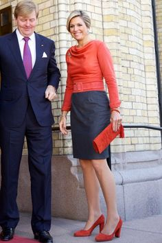 King Willem-Alexander and Queen Maxima visit Norway | NEWMYROYALS & HOLLYWOOD FASHION