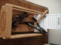 Vintage Wooden Napa Valley Storage Box Desk by vintageheartstrings, $14.00