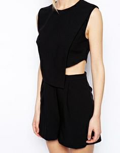 Enlarge ASOS Playsuit with Cutout Detail
