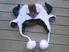 Appa Hat from Avatar The Last Airbender by ManyAHats on Etsy, $35.00