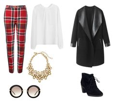 """""""1960 inspired"""" by c3a3n3d3y3 on Polyvore featuring Vivienne Westwood Red Label, Columbia, Clarks, Oscar de la Renta and Miu Miu"""