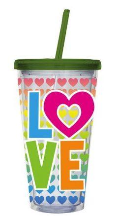 Love Small Insulated Cup w/ Straw by Evergreen Enterprises, Inc, http://www.amazon.com/dp/B0057PPALM/ref=cm_sw_r_pi_dp_ne7Dqb02Z5V4G