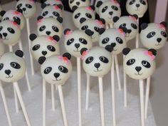 Panda popcakes