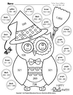 Printables Halloween Worksheets For Middle School using punctuation this halloween the ojays and end of free is a great little sheet to help graders practice adding subtracting multi digit problems while graders