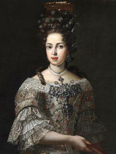 Anna Maria Luisa de Medici Electress Palatine, late 17th century to early 18th
