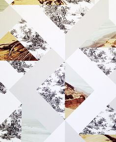 collage wallpaper by suzanne shade