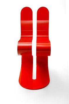The Fluid Ribbon chair from Lamberti Decor