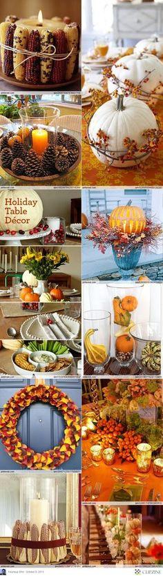 Thanksgiving Decorating Ideas #SaveThanksgiving