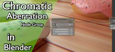 BlendMaster writes: Hey Everybody! In this tutorial I will be showing you how to create a super easy node group for adding chromatic aberration to your scenes in Blender. This node group is great because it adds some slight realism to any scene you are working on. Typically, when you take a photo with aRead More