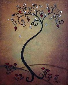 Whimsical Tree By Charlene Murray Zatloukal From All Art Galleries