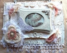 Shabby Chic Angel Sign