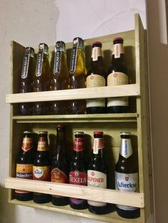 This diy rack is just for those special beers