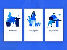 The splashpage of some vector illustration by erics #LogoCore