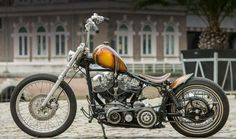 Bobber Motorcycle, Bobber Chopper, Motorcycle Design, Harley Davidson Chopper, Harley Davidson Motorcycles, Custom Harleys, Custom Bikes, Old School Chopper, Old Motorcycles