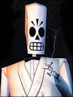 When I die, I want to be Manny Calavera.
