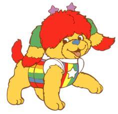 Puppy Brite - RainbowBrite. AHHH Can I get Milford involved?!! I hope so!
