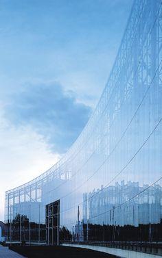 Neven Dumont. Kolonia, Niemcy Produkty: SGG SECURIPOINT. #glass #architecture #desing #future #futuristc_architecture #glassisthefuture
