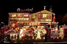 Oh Holy Lights!  Enter to win a$250 Gift Card from Lowe's.  Would you spend it on Christmas Decor, or tools?  If you decorate like this you probably need both!    http://seniordealnews.com/contests/winter-giveaway-lowes/