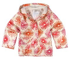 cute raincoats using Outside Olso fabric - How about orange
