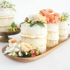 Naked (a.k.a. unfrosted) cakes are all the rage! Learn how to make these easy mini versions with our simple tutorial.