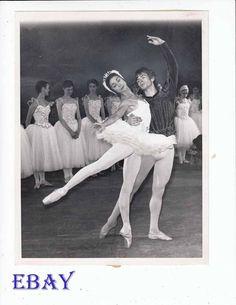 Rudolph Nureyev Margot Fonteyn Vintage Photo | eBay
