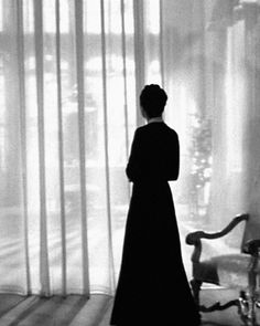 Judith Anderson in Rebecca (1940, dir. Alfred Hitchcock) from Jean-Christophe I.  Mrs. Danvers. Makes me scared just to say the character's name.