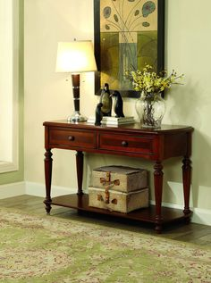 Preeda Transitional Sofa Table