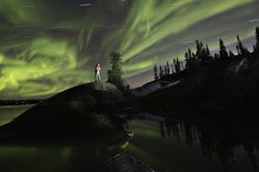 American Travel Where to See the Northern Lights in Canada Northern Lights Canada, See The Northern Lights, Virginia Fall, Parks Canada, Lake Beach, Northwest Territories, Canada Travel, Canada Trip, Photography Workshops