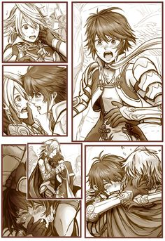 Fire Emblem: If/Fates - Hinoka and Kamui brother and sister reunion