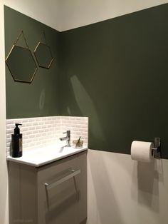wc buanderie déco green lave main carreaux métro blancs