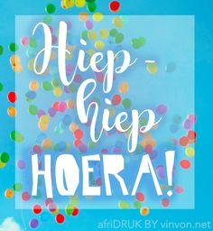 #Afrikaans #boodskap #inspirasie #freebie #vinvon.net #afriRUK Afrikaans, Birthdays, Frame, Decor, Anniversaries, Picture Frame, Decoration, Birthday, Decorating