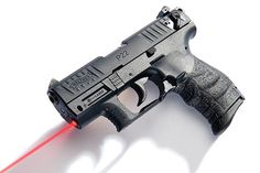 Walther P22 with Intergrated Laser! Highly customizable. Want it with silencer! ^_^