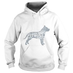 RESCUE, FOSTER, LOVE, ADOPT A ᑎ‰ PITBULL HOODIEA PORTION OF ALL PROCEEDS GOES TOWARDS ANIMAL RESCUES! PLEASE CHOOSE ADOPTION!PIT,LOVE,RESCUE