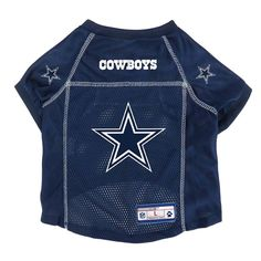 1cb13f15d Dallas Cowboys NFL Team Jersey Dog Clothing