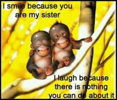 Sister ♥ Leticia is somewhere saying this right now.