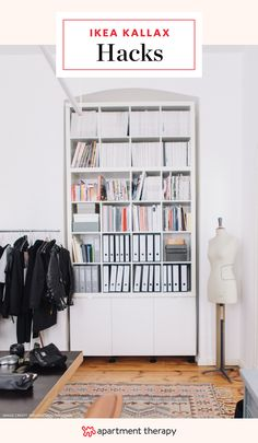 Super Smart Ways to Use the IKEA Kallax Bookcase    The IKEA Expedit (lately reborn as the Kallax) has, like a lot of classics, an incredibly simple design. And like a lot of IKEA pieces, it lends itself to all kinds of different uses—some of which you may have not even thought of. Here are 15 different ways to put your Kallax bookcase to work all over the house, in all kinds of ways.