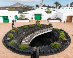 The World Of Cesar Manrique, Lanzarote — Alastair Philip Wiper Lanzarote Puerto Del Carmen, Spain And Portugal, Stairs Architecture, Canary Islands, Strand, Malaga, Places To See, The Good Place, Beautiful Places