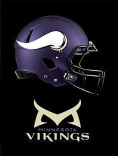Equipo Minnesota Vikings, Minnesota Vikings Football, Vikings 2, 32 Nfl Teams, Football Helmets, Football Stuff, Helmet Logo, Professional Football, Men Cave