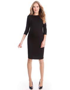 Black Maternity Shift Dress - Seraphine