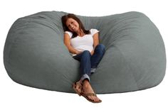 This extra cozy bean bag lounger is awesome! It's extremely comfortable and is great for basements, bedrooms, dorm rooms, or even the family room! Say goodbye to your back pain because this baby conforms perfectly to your body. It's durable,…