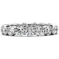 """Hearts on Fire """"Multiplicity Eternity Band"""" Sensational Quality"""
