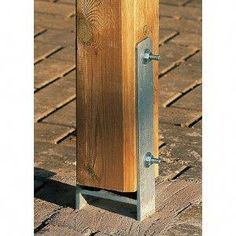 How To Anchor Post To Concrete Mailbox Pinterest