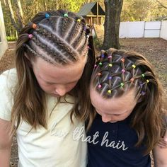 Childrens Hairstyles, Girls Natural Hairstyles, Cute Girls Hairstyles, Flower Girl Hairstyles, Braided Hairstyles, Braids Hairstyles Pictures, Hair Pictures, Soccer Hair, Curly Hair Styles