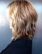 Long Shag haircuts with Movement