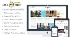 Magazine / Newspaper / News / Blog WordPress Theme - NiceBird