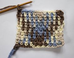 Colour pooling is a new craze sweeping the crochet world! Create patterns in variegated yarn by maniuplating the shades! Anna Nikipirowicz shows you how!