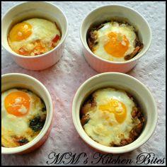 MM's Kitchen Bites: Baked Eggs – 4 ways...Monday blues...nah!! Monday Funday!!