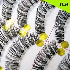 Checkout this new stunning item Latest 10 Pairs Makeup Handmade Natural Long False Eyelashes Sparse Eye Lashes - US $1.24 http://businesshealthbeauty.com/products/latest-10-pairs-makeup-handmade-natural-long-false-eyelashes-sparse-eye-lashes/